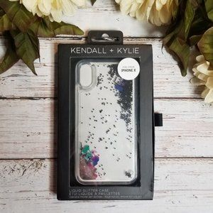 Kendall & Kylie | Liquid Glitter IPhone X Case
